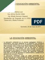 PONENCIAS ACERCA DE LA EDUCACIÓN AMBIENTAL.pptx