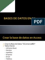 Base de Datos con C#