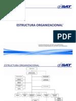 Estructura Organizacional SAT