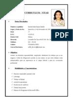 Curriculum Vitae Sofia