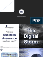 Revenue Assurance for Digital Services