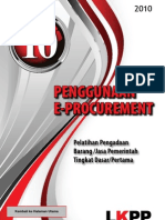Modul 10 - Penggunaan E-Procurement
