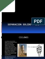 Separacion Solido - Gas