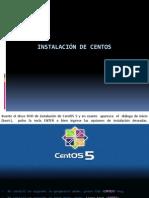 INSTALACIÓN DE CENTOS