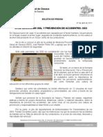 07/04/11 Germán Tenorio Vasconcelos URGE EDUCACIÓN VIAL Y PREVENCIÓN DE ACCIDENTES, SSO