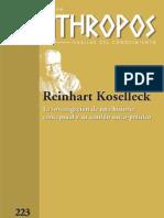 Koselleck, Dossier Anthropos 2009