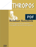Koselleck, Dossier Anthropos 2009