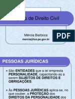 AULA 2 DE DIREITO CIVIL - PESSOA JURÍDICA