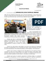11/04/11 Germán Tenorio Vasconcelos arranca Sso Jornada de Lucha Contra El Dengue