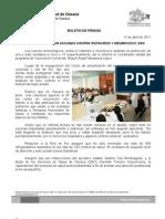 12/04/11 Germán Tenorio Vasconcelos AMPLÍAN PROTECCIÓN VACUNAS CONTRA ROTAVIRUS Y NEUMOCOCO, SSO