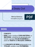 Aula 4 de Direito Civil - Bens
