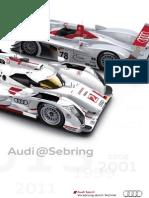MediaInfo Magazine, Audi at Sebring 1999-2013