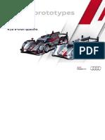 Audi Sports Prototypes Booklet (English, 2012)