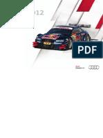 Audi DTM Booklet (English, 2012)