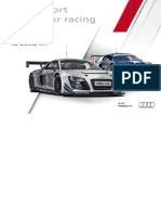 Audi Sport customer racing Booklet (English, 2012)