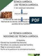 LA TÉCNICA JURÍDICA