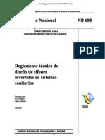 Sifones Reglamento Bolivia