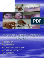 TIPOS DE HERIDAS......ppt