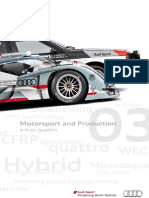 Motorsport & Production Magazine - e-tron quattro (English, 2012)
