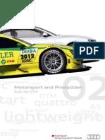 Motorsport & Production Magazine - Audi A5 DTM (English, 2012)