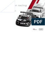 Audi Sport customer racing Booklet (English, 2011)