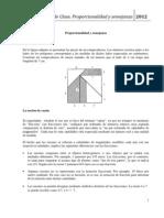 Proporcionalidad y SEMEJANZA.enero2012.pdf