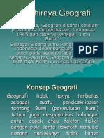 Lahirnya Geografi