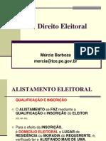3ª AULA - ALISTAMENTO ELEITORAL