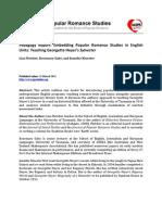 JPRS1.2 Fletcher Gaby Kloester Pedagogy