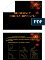 Regresion y Correlacion Simple Clase 10