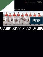 Audi Booklet DTM (English, 2010)