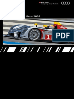 Audi Sport Prototypes Booklet (English, 2009)