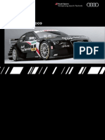 Audi Sport DTM Booklet (English, 2009)