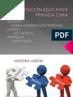 INSTITUCIÓN EDUCATIVA PRIVADA CIMA
