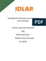 Ensayo Del Blog (TICC)