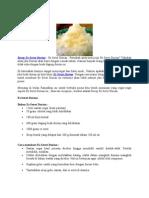 Resep Es Serut Durian
