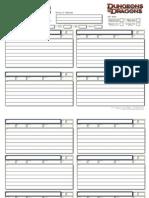Shados' Character Sheet Add-ons