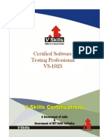Certified Software Testing Professional