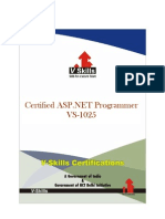 Certified ASP.net Programmer