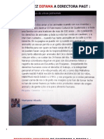 ROCIO LÓPEZ DIFAMA A DIRECTORA PAGT Jueves 21 Feb 2013.