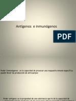 Antigenos e Inmonogenos