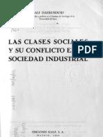 Las Clases Sociales y Sus Conflictos en La Sociedad Industrial