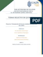 Manual de tratamiento de hexano residual en extracción de aceites