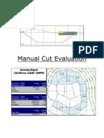 Manual Cut Evaluation