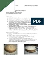 Clasa magistral tortas y decoración