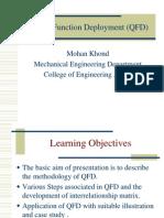 Qfd for Associate Prof