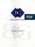 Bloor Group Media Kit 2013