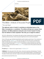 The Last Days—Accurate Bible Prophecy, Part 6