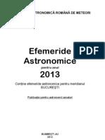 EFEMERIDE-ASTRONOMICE-2013