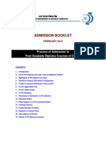 AdmissionBooklet CDAC-PG-DiplomaCourses Feb13 V1 New